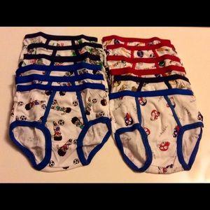 Other - 12 Boy's Underwear Brief - NEW